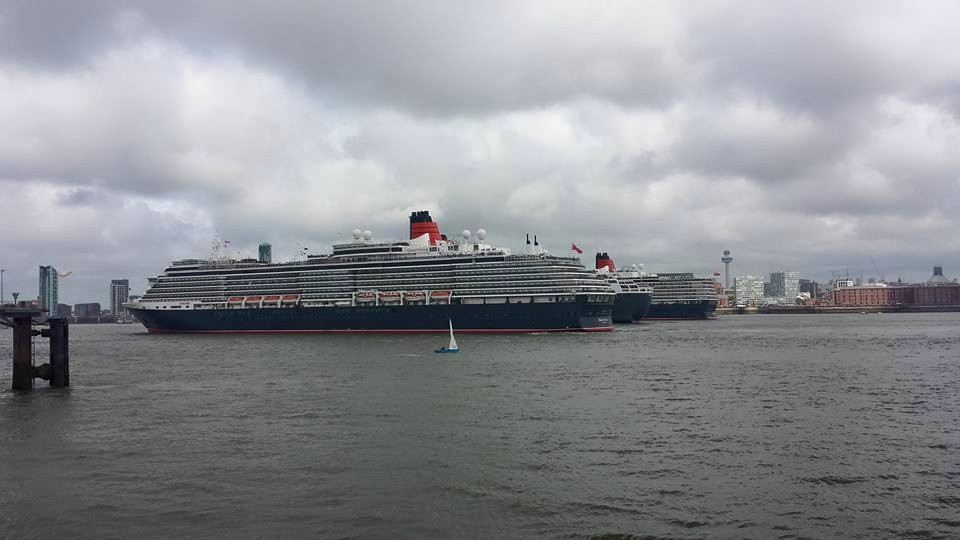 Cunard 's 175th Anniversary in Liverpool