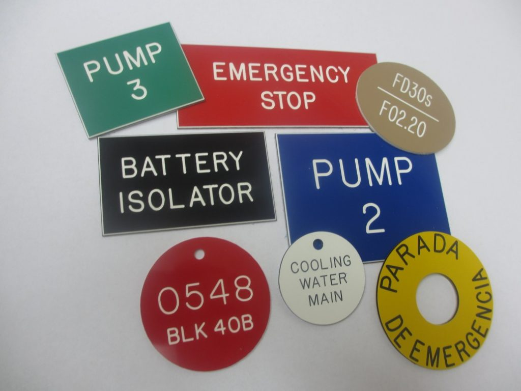 Labels, Badges and Key Fobs