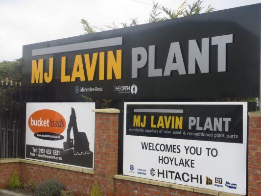 Lavin Plant & Machinery Signage