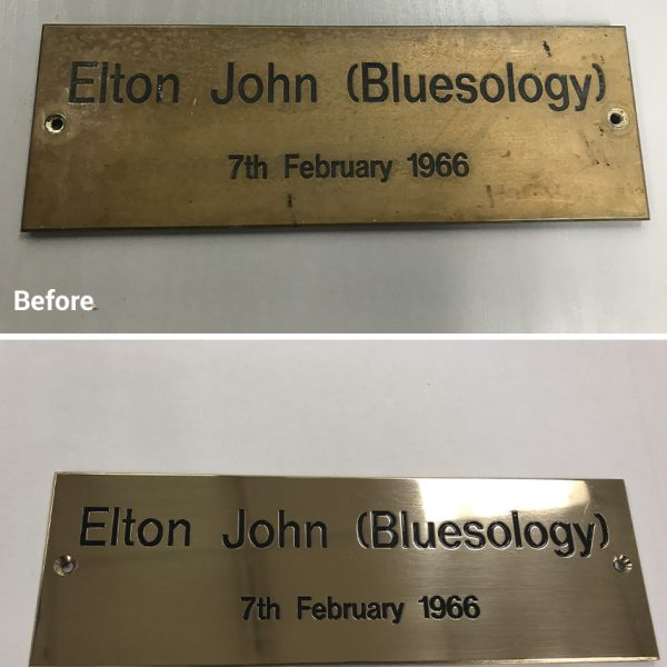 Plaque Refurbishment Services